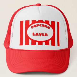 Popcorn Your name Trucker Hat