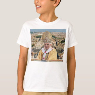 Pope Benedict XVI with the Vatican City T-Shirt