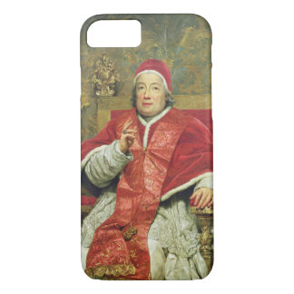 Pope Clement XIII (1693-1769) (oil on canvas) iPhone 7 Case