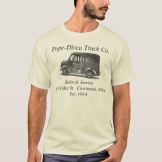 Pope-Divco Truck Co. T-Shirt