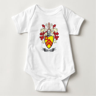 Pope Family Crest Coat of Arms Baby Bodysuit