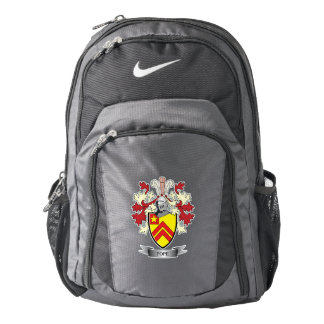 Pope Family Crest Coat of Arms Backpack