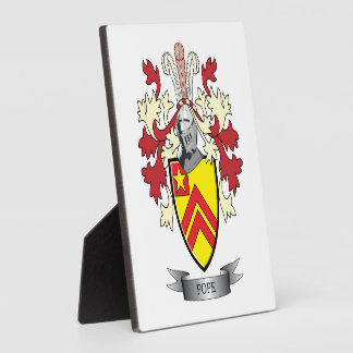 Pope Family Crest Coat of Arms Plaque