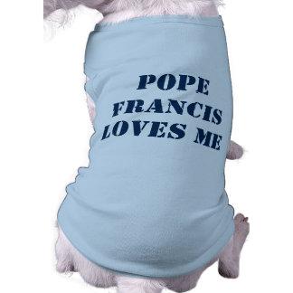 Pope Francis Dog Shirt