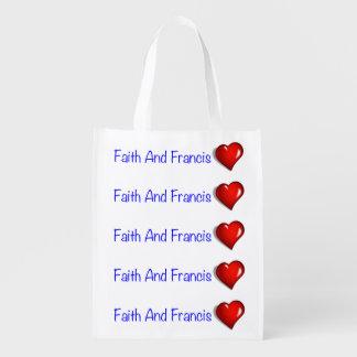 Pope Francis Papa Francesco Catholic Catolica Love Market Tote