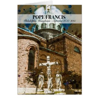Pope Francis Visits Philadelphia PA Notecard