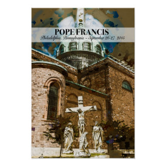 Pope Francis Visits Philadelphia Poster