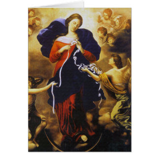 Pope Francis's Prayer to Our Lady Untier of Knots Card