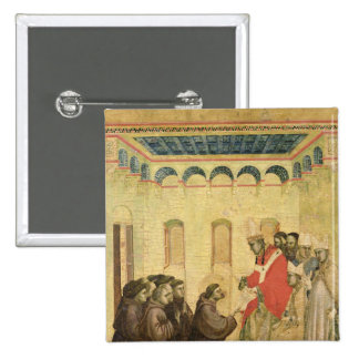 Pope Innocent III 2 Inch Square Button