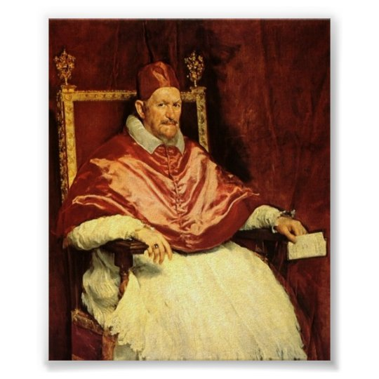 Pope Innocent X Poster