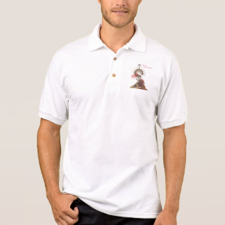 Pope John Paul II and Divine Mercy Polo Shirt
