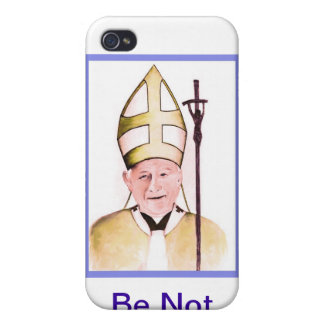 Pope John Paul II iphone cover iPhone 4 Cases