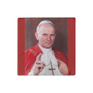 Pope John Paul II MAGNET Stone Magnets