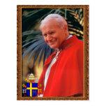 Pope John Paul II Prayer Beatification Card