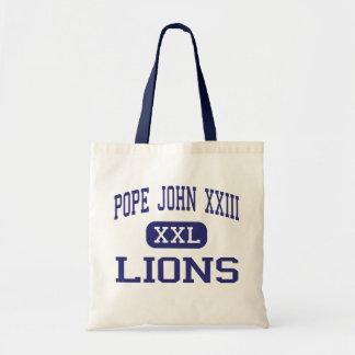 Pope John XXIII - Lions - High - Sparta New Jersey Budget Tote Bag