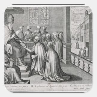 Pope Paul III Square Sticker