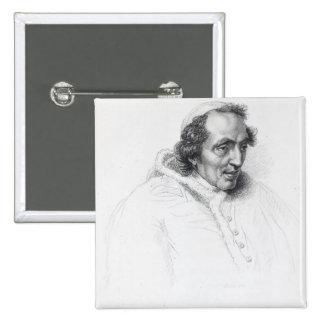 Pope Pius VII 2 Inch Square Button