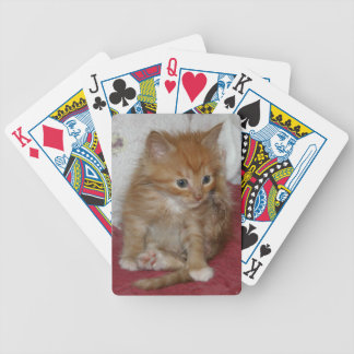 Popeye the kitty bicycle playing cards