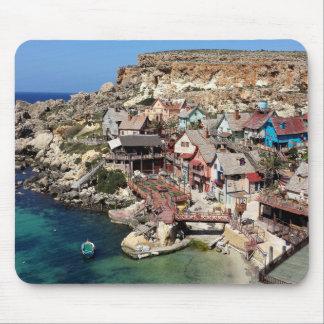 Popeye Village Malta Mouse Pad