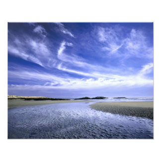 POPHAM BEACH STATE PARK, MAINE. USA. Cirrus Photo