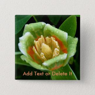 Poplar tree tulip pin