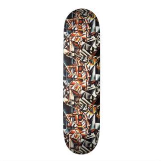 Popova's art skateboards