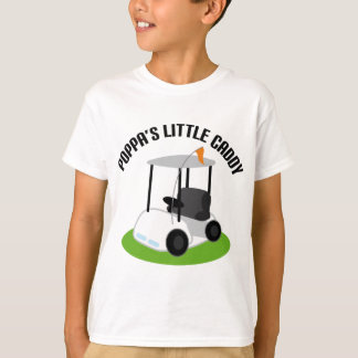 Poppas Caddy (Golf) T-Shirt