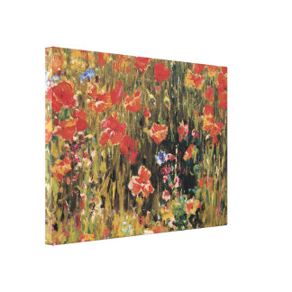 Poppies, 1888 stretched canvas print