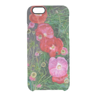 Poppies 2009 clear iPhone 6/6S case