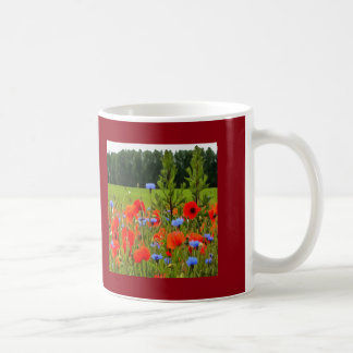 Poppies And Cornflowers Coffee Mug
