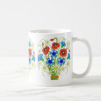 Poppies and Cornflowers Mug