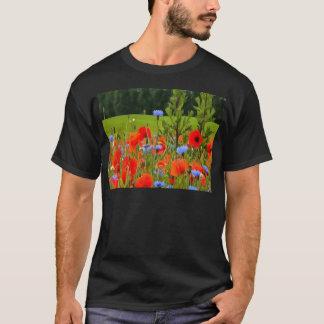 Poppies And Cornflowers T-Shirt