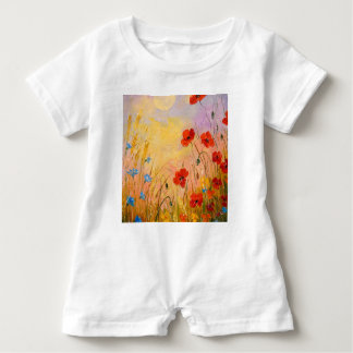 Poppies Baby Romper