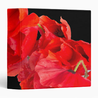 Poppies Binder