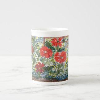 Poppies - Bone China mug