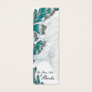 Poppies Bookmark #2 Mini Business Card
