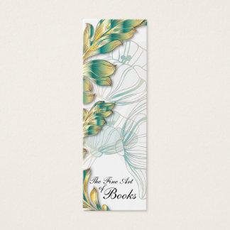 Poppies Bookmark #4 Mini Business Card