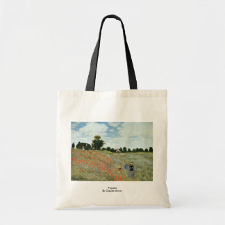 Poppies By Claude Monet Tote Bag