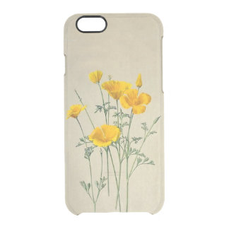 Poppies California iPhone 6/6S Clear Case