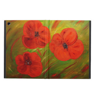 poppies case for iPad air