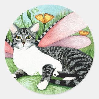 Poppies_Christina Davis Round Sticker