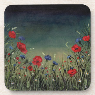 Poppies Coaster set