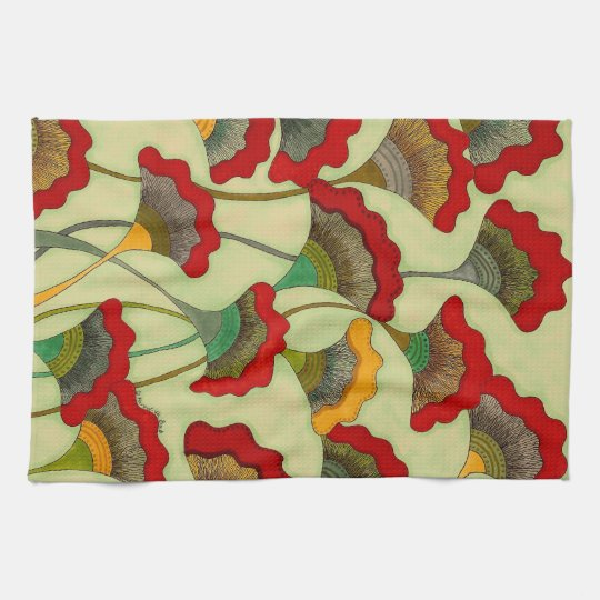 Poppies - Cotton Kitchen Towel