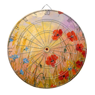 Poppies Dartboard
