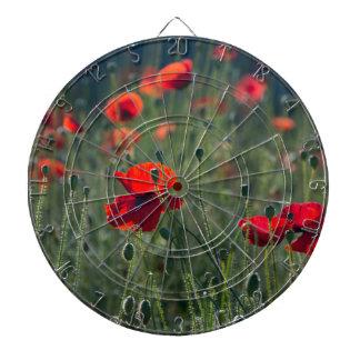 poppies dartboard
