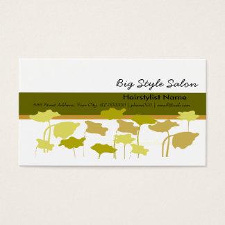 Poppies Elegant Unique Stylish Business Card