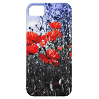 Poppies Floral poppy flower iPhone 5 Covers