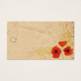 Poppies Hang Tag