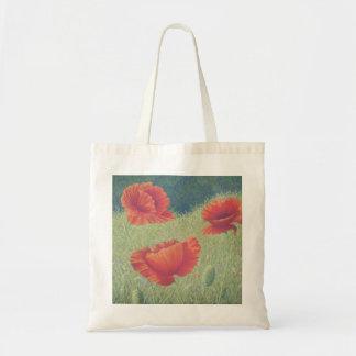 Poppies in Flanders Fields in Pastel Tote Bag