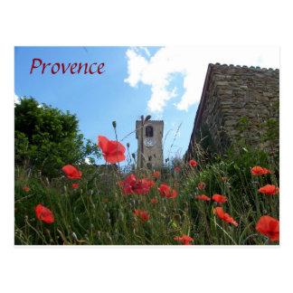 Poppies in Provence postcard